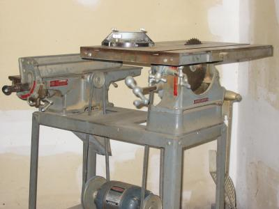 homecraft rockwell  delta table saw  jointer combination