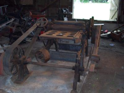 100 year old 4ft wood planer for sale