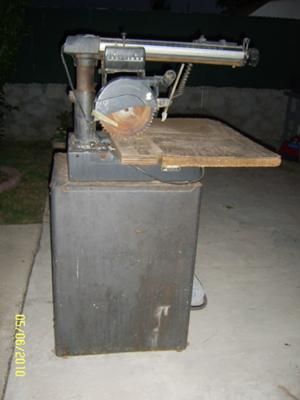 Old Craftsman Tadial Arm  Saw