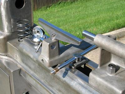 Tool rest, tail stock