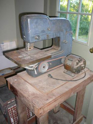 King - Seeley band saw