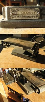 Vintage Craftsman Belt Disc Sander