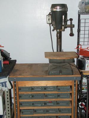 Vintage Craftsman Bench Top Drill Press No 103 23640