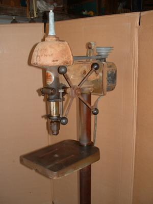 Walker Turner Floor Mount Drill Press
