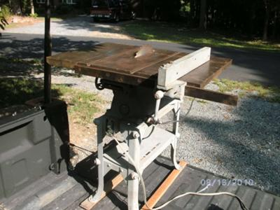 Walker-Turner Tilt Table Table Saw