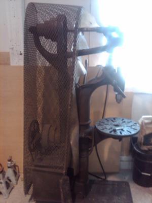 W.F. & J Barnes Drill Press